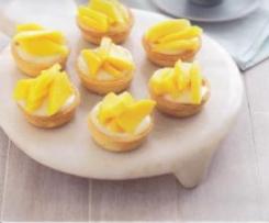Mango & Lemon Curd Tarts