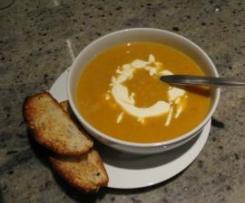 Sweet Potato, Star Anise Soup
