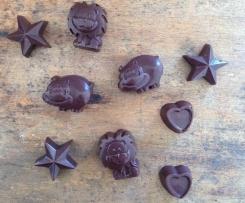 Goji and Coconut Raw Chocolate