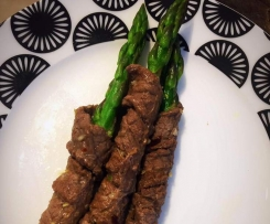 Beef Wrapped Asparagus - Paleo / Gluten Free