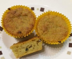 Banana and Passionfruit Cupcakes