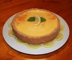 Baked Lemon Cheesecake (sugar free)