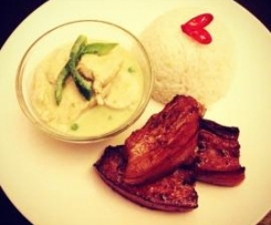 Thai Green Curry in a Hurry (Chicken)
