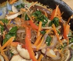 Korean Potato Glass Noodle Japchae 잡채