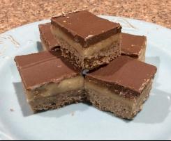 Dark Chocolate Peppermint Slice