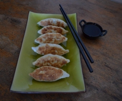 Sticky bottom dumplings