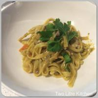 Variation - chicken & vegetable fettucine