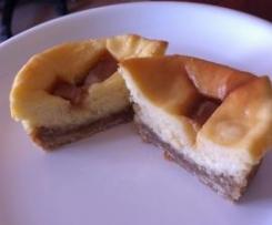 Mini Caramel Cheesecakes