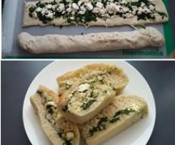 Spinach & Feta Plaited Loaf