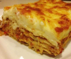 Sally's Lasagne Special (hide veggies from your kids)