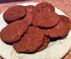 Fudgy-Wudgy Chocolate Cookies