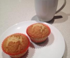 Dairy Free Lemon and Coconut Cupcakes