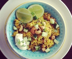 Curried Rice with Cashews