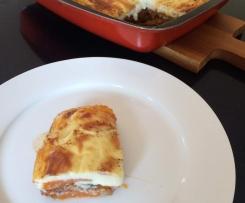 Moussaka with Sweet Potato