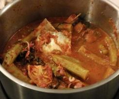 Gulai Tumis (Nyonya Fish Curry)
